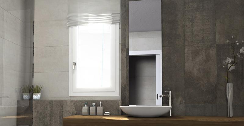 Łazienkowe aranżacje okienne w każdym stylu